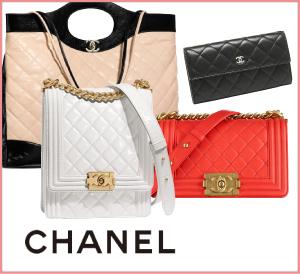 柔らかいデザインでとカラーで元気な女性を輝かせる、シャネルのバッグ・財布